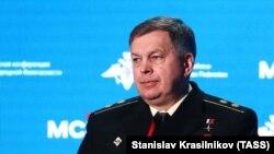 Вице-адмирал Игорь Костюков. Архивное фото.
