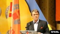 Майдан Незалежности: Виктор Ющенко к роспуску Рады готов