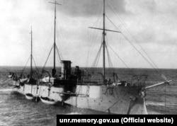 Канонерський човен «Кубанець», що був перейменований 17 вересня 1918 року на «Запорожець». Це було перше в історії українського флоту перейменування. «По наказу Колегії Верховних Правителів Української Держави оголошую, що канонерський човен «Кубанець» перейменовано на «Запорожець». В. об. Морського Міністра, капітан 1-ї ранги Максимів», – йшлося в наказі морського відомства