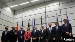 مذاکرهکنندگان اتمی؛ ژوئیه ۲۰۱۵