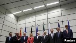 дел од учесниците на преговорите за договорот со Иран околу неговата нуклеарна програма