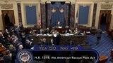 """Сенат одобряет законопроект """"План спасения Америки"""""""