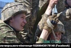 Заняття в школі морського піхотинця