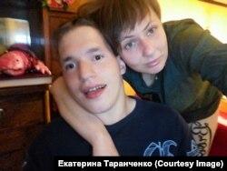 Яша в гостях у Екатерины Таранченко