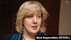 Georgia -- Dunja Mijatovic, OSCE Representative on Freedom of the Media.