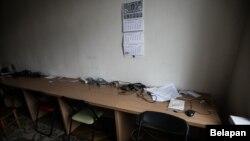 Офіс «Белсату» після обшуку, 31 березня 2017 року