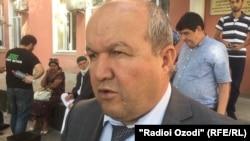 Сайфиддин Назарзода, экс-директор Национальной библиотеки Таджикистана.