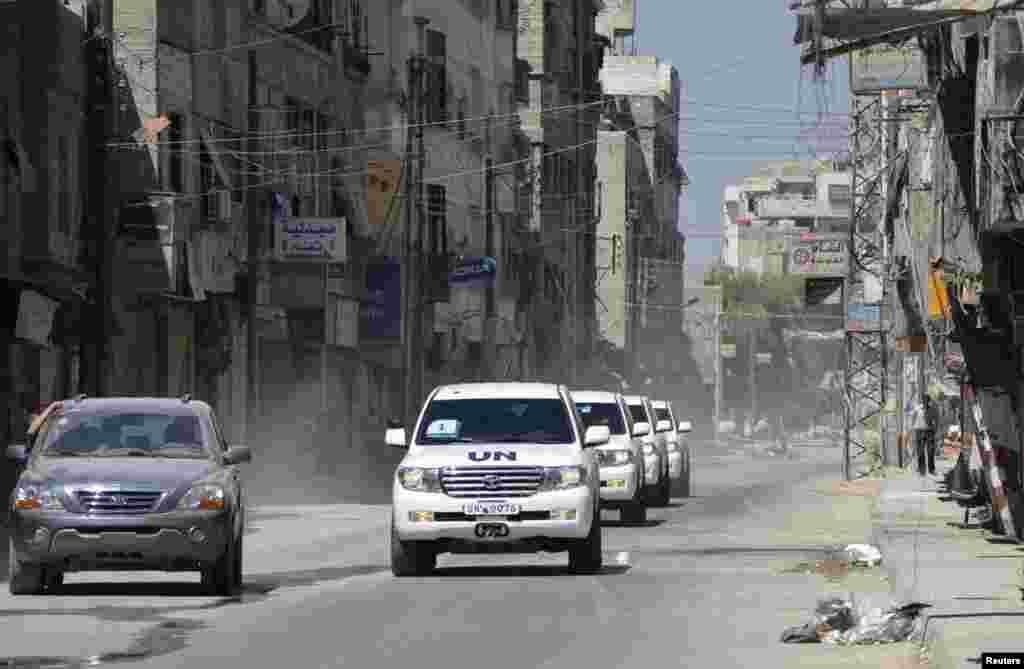 Конвой ООН в Сирии