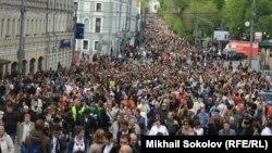 """""""Контрольная прогулка"""" в Москве, 13 мая 2012"""