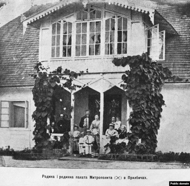 Палац графів Шептицьких у Прилбичах (Львівщина)