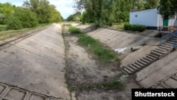 Північно-Кримський канал, архівне фото