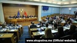 Sa 18. sastanka Parlamentarnog odbora za stabilizaciju i pridruživanje u Parlamentu Crne Gore, Podgorica, 25. februar