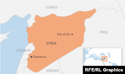 The deadly incident took place in the eastern Syrian city of Deir al-Zor
