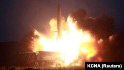 Testimi i raketave nga ana e Koresë Veriore