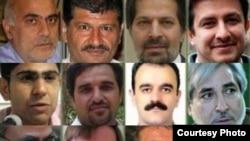 ۱۲ زندانی سیاسی که از ۲۸ خرداد اعتصاب غذا در رندان اوین را آغاز کردند