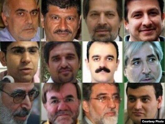 ۱۲ زندانی سیاسی اوین روز شنبه ۲۸ خرداد اعتصاب غذای خود را آغاز کرده بودند