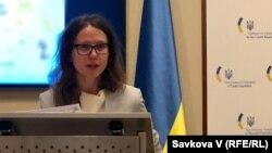 Секретарка посольства України в Чехії з питань преси та культури, Тетяна Окопна (архівне фото)