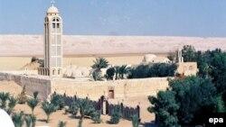 Ыйык Самуил монастыры. Египет, Минья.