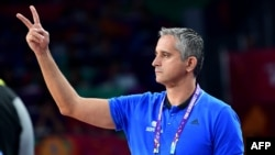 Serbian basketball coach Igor Kokoskov (file photo)