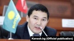 Дамирбек Асылбек уулу, депутат парламента Кыргызстана.
