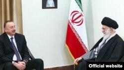 Ali Khamenei İlham Əliyevi qəbul edir - 23 fevral 2016