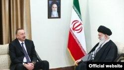 Алиев и Хаменеи. 23 февраля. Тегеран