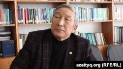 Кулбек Ергобек, основатель Библиотеки тюркоязычных народов в Туркестане. 14 ноября 2017 года.