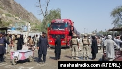Torkham border crossing reopens after five days of clashes between Pakistani and Afghan forces.