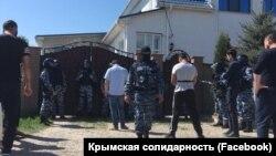 Обыски на предприятии Ресуля Велиляева в Белогорске. 26 апреля 2018 года