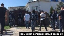 Обшуки в Білогірську в анексованому Росією Криму, 26 квітня 2018 року