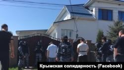 На месте обыска в Белогорске
