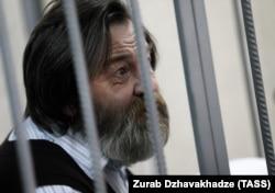 Sergei Mokhnatkin attending a court hearing in Moscow in 2014.