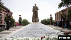 Armenia - The statue of Garegin Nzhdeh in Yerevan