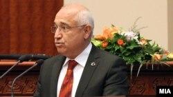 Թուրքիայի խորհրդարանի նախագահ Ջեմիլ Չիչեք, արխիվ