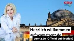 Karin Strenz – afiş electoral (Foto: strenz.de)