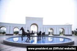 Парк Ашхабад в Ташкенте