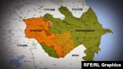 Місце військового протистояння між Вірменією і Азербайджаном