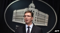 Kryeministri serb, Aleksander Vuçiq - Arkiv