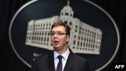 Kryeministri i Serbisë, Aleksandar Vuçiq.