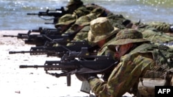 Լիտվացի զինծառայողները ՆԱՏՕ-ի զորավարժությունների ժամանակ, արխիվ