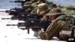 Литовские войска во время учений BALTOPS 2012