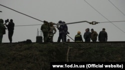 Перевірка загрози мінування. Одеса, 6 лютого 2015 року (Фото: www.1od.in.ua)
