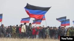 Зборы рэзэрвістаў «ДНР». Архіўнае фота