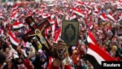 Protivnici Morsija na trgu Tahrir 4. jula