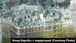 Дом в Лондоне, где находится квартира вице-премьера РФ Игоря Шувалова, фото - Фонд борьбы с коррупцией