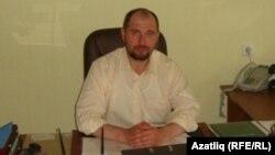 """""""Яктылык"""" мәктәбе мөдире Радик Газизов"""