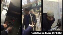 Говорить о Романе Насирове работник ресепшена в доме, где у Насирова есть квартира, отказался