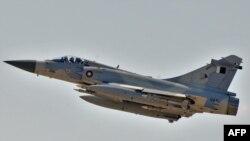 """Истребитель французского производства """"Мираж-2000-5"""" созданный компанией """"Дассо авиасьон"""""""