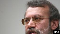 Iranian parliamentary speaker Ali Larijani (file photo)
