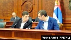 Premijer Srbije poručio kako o priznanju Kosova neće biti govora: Aleksandar Vučić i šef kancelarije za Kosovo Marko Đurić